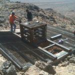 Cupola - Paymaster mesh installation