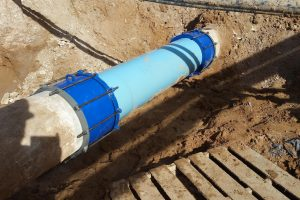 Repair AVEK Water Line Leak Southern California 4 Granite Inc.