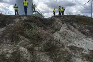 Baffin Erosion Remediation - Sarita, TX 4 Granite Inc. Contractor