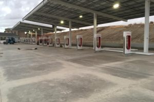 Kettleman City, CA - Tesla Charging Station 4 Granite Inc. Contractor